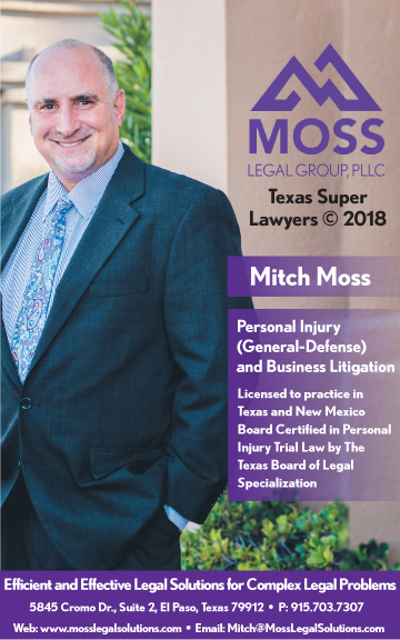 Mitch Moss - Personal Injury & Defense Trial Attorney in El Paso, TX